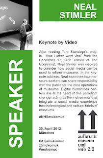 Neal Stimler - Speaker @ #mukomuc & #scmuc12 //  http://scmuc.posterous.com