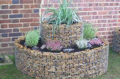 Stone container garden