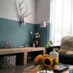 Caroliens interieurstyling inrichting moderne woonkamer caroliens interieurstyling - Hoe een verf kleur voorbereiden ...