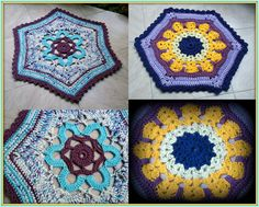 Crochet Rag Rug.  My Rag Crochet Blog: helenacc.blogspot.com.br