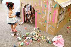 masking tape playdate for kids  {designforminikind}