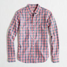 J.Crew Factory: slim washed shirt