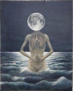 darksilenceinsuburbia:    Fumie Sasabuchi. Untitled, 2011.Oil on canvas, 50 x 40cm.