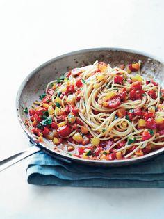 Mixed Pepper Pasta | KitchenDaily.com