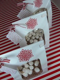 Hot cocoa Mix recipe and gift bag