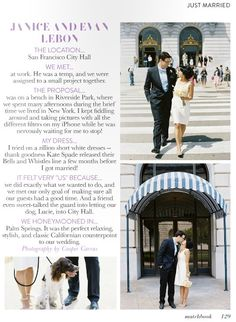 ~City Hall Wedding