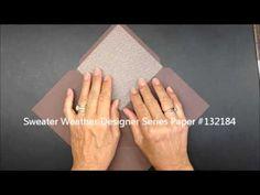 Envelope Punch Board Liner Tutorial