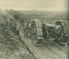 Artillery at the Somme WWI