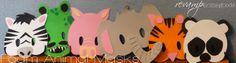 Kids Crafts: Foam Animal Masks