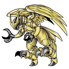 Eaglemon - Mega level Cyborg/Giant Bird digimon