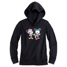 Mickey and Minnie Mouse ''Castle Coffee Break'' Hoodie for Women