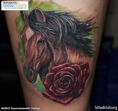 horse Tattoos | idea for mom