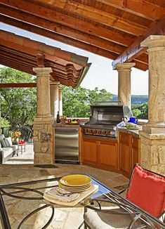 Traditional Backyard Home Design -  Traditional,Tuscan Outdoor Designm, Decor and Ideas