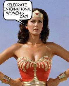 Wonder Woman Celebrate International Womans Day