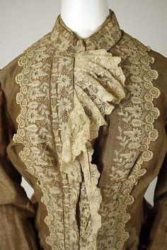 1883 Dress - front of bodice INSPRATION