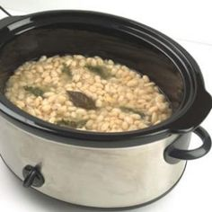 Slow cooker beans...
