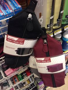 Pointlessly gendered travel bags (thanks @witchhat!)