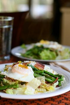 Bacon, Egg, and Asparagus Salad