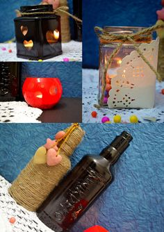 5-in-One – Make Candle Holders Using Spray Painting | kwikdeko