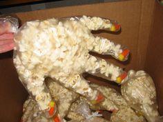 halloween treat hand bags