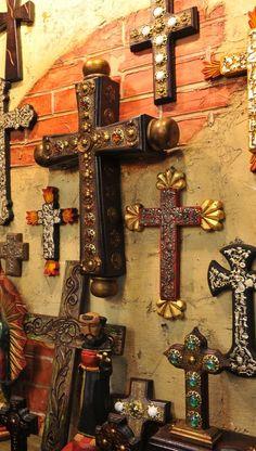 Jeweled crosses