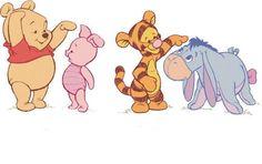 Pooh, Piglet, Tigger & Eeyore - Winnie The Pooh Picture