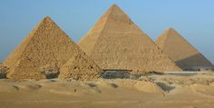 The Great Pyramid and Sphinx, Giza