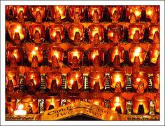 Candles at St. Patricks Cathedral