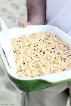 Gluten-free Brown Butter Rice Krispies | With Style & Grace ... only make if you can find low-FODMAP marshmallows w/o HFCS.