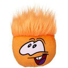 stuffed orange puffle :)