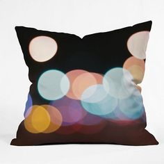 DENY Designs Leonidas Oxby Friday Night Lights Decorative Pillow - 20'' x 20''