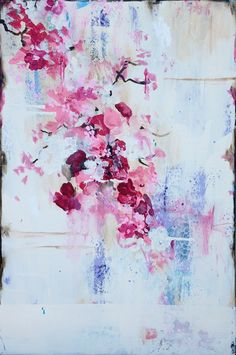 beautiful floral painting by Kathe Fraga