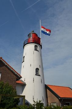 Dutch Lighthouse Urk Lighthouse