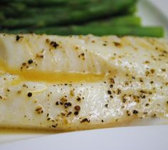 Baked cod fillets.Delicious baked cod fillets with onions,leeks,dry cider and parsley.