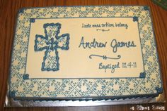 Baptism Cakes For Boys | Baptism Cakes | Welcome to the Creative Collage - Come In and Stay ...