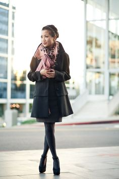 Wendy from Wendy's Lookbook in Sam Edelman shoes