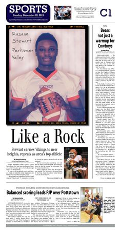 Perkiomen Valley's Rasaan Stewart repeats as 2013 Football Player of the Year. Read more at http://www.gametimepa.com/mont-bucks-archives-football/ci_24773571/all-area-football-perkiomen-valleys-rasaan-stewart-repeats