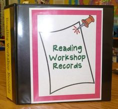 Reading Workshop resouces