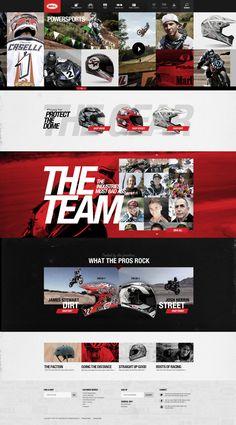 Bell Helmets on Behance #webdesign #website #inspiration