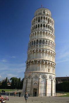 Leaning Tower of Piza, Italy
