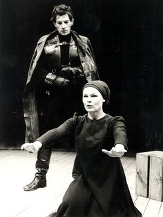 Judi Dench and Ian Mckellen in Macbeth