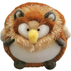 Squishable Griffin Mini, designed by our own dearest Melissa Zayas. I want to hold him!