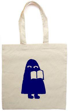 Nieves book tote bag