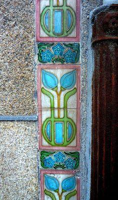 Art Nouveau Tiles | JV