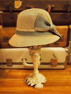 lady mary hat - grey