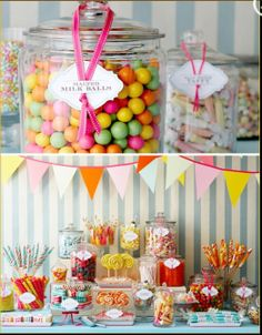 I love the Candy Shop idea!!! Must do!