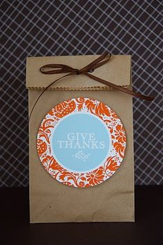 Free Printable Thanksgiving tags