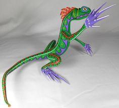 Oaxacan Wood Carvings - Alebrijes, Oaxacan Animals. Mexico