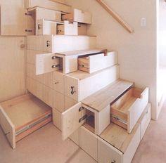...storage stairs open
