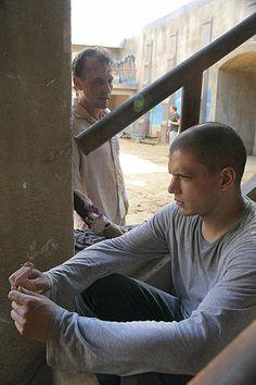 Prison Break - T-Bag and Michael Scofield in Sona, tv series, show, photo